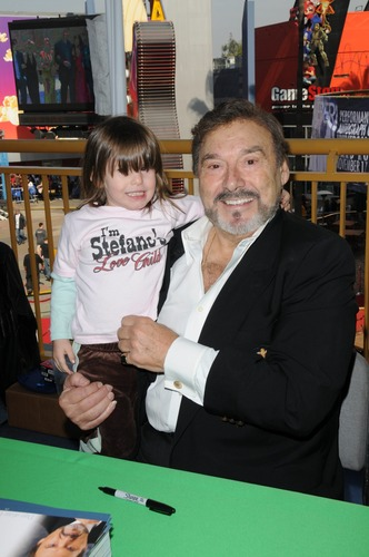 Stefano and child