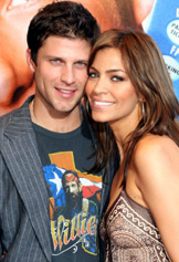 Greg Vaughan and his wife