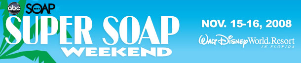 Super Soap Weekend Banner