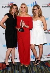 Clementine Ford Helps Honor Mom Cybil At Glaad Awards