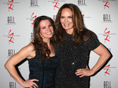 Melissa Claire Egan is related to catherine bach