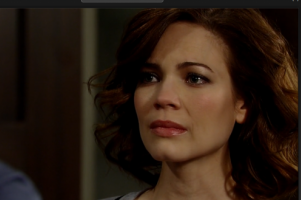 Rebecca Herbst new hairstyle