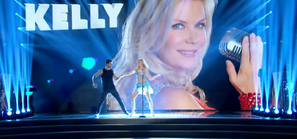 Katherine Kelly Lang on dwts