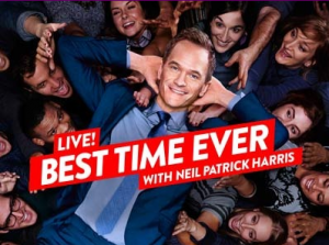To lend her voice on tonight s episode of best time ever with neil
