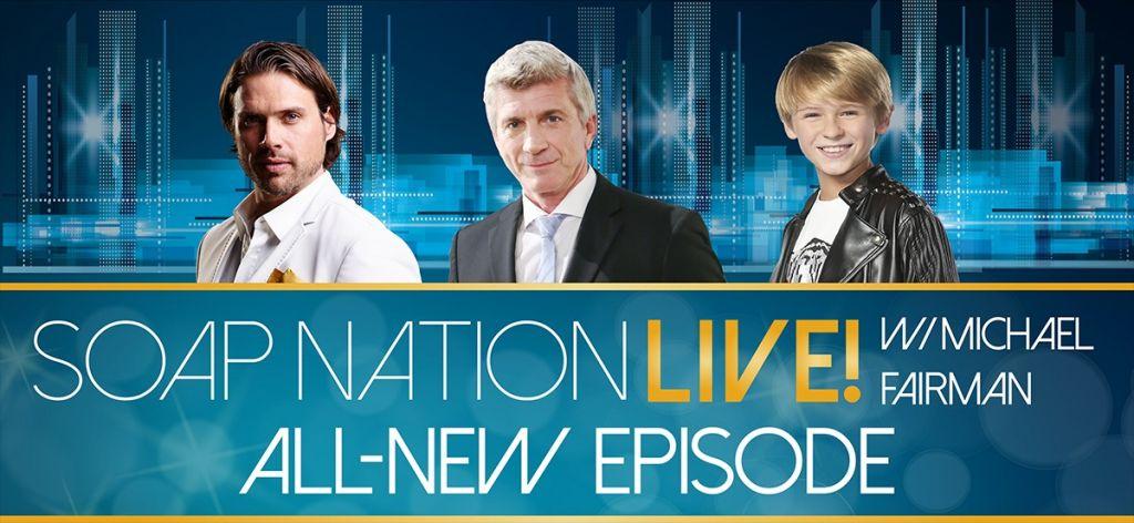 LISTEN NOW: Soap Nation Live! with Joshua Morrow, Joe Lando & Hudson