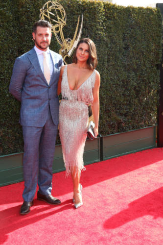 Beautiful couple! DAYS Nadia Bjorlin and hubby Grant Turnbull