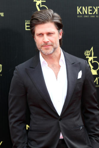 Looking mighty fine, DAYS Daytime-Emmy winning, Greg Vaughan (Eric).