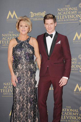 Robert Palmer Watkins and his mom