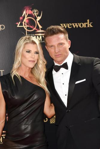 GH's Steve Burton and his lovely wife, Sheree!