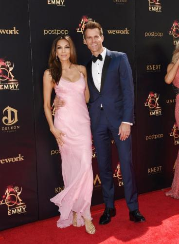Home & Family's Cameron Mathison steps out with his wife, Vanessa.