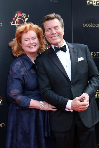 Y&R's Peter Bergman always looks classic and here he is with his wife,Mariellen