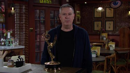 Y&R's Josh Griffith and his writing team win Outstanding Writing in a Drama Series.