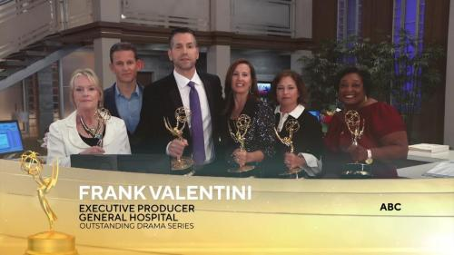 GH executive producer, Frank Valentini and his producing team take Outstanding Drama Series.