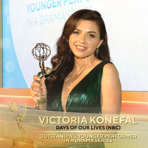 DAYS Victoria Konefal winner for Outstanding Younger Performer in a Drama Series
