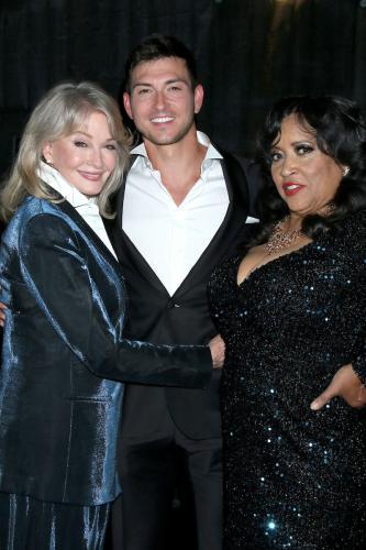 DAYS Robert Scott Wilson, flanked by co-stars Deidre Hall and Jackée Harry.
