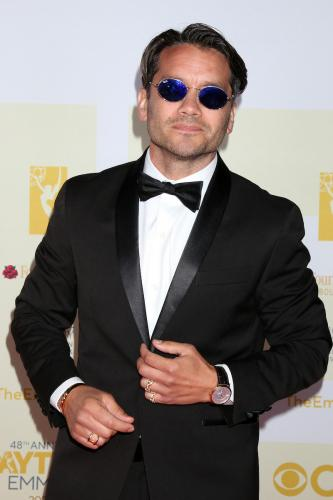 GH Lead Actor nominee, Dominic Zamprogna (Dante) looking cool on the red carpet.