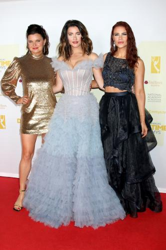 Girl Power from B&B and Y&R! Heather Tom, Jacqueline MacInnes Wood, and Courtney Hope.