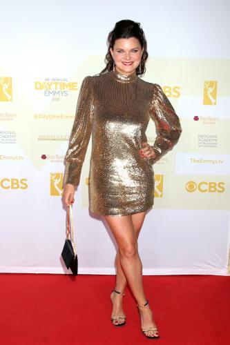 Six-time Daytime Emmy winner, Heather Tom (Katie, B&B).
