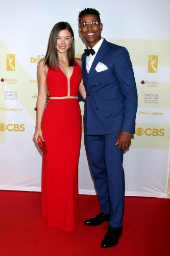 GH Daytime Emmy nominees, Katelyn MacMullen (Willow) and Tajh Bellow (TJ).