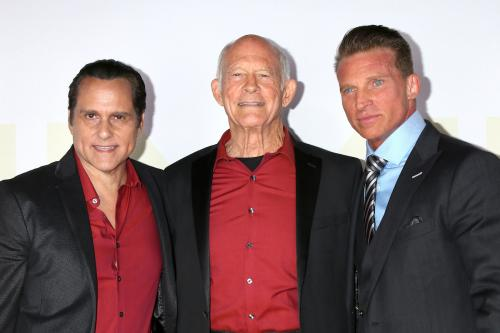 Maurice Bernard, Max Gail, and Steve Burton - all nominees from General Hospital.