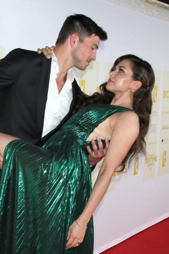 It's a CIN! Yup, it's a sin to be this gorgeous, right ?Check out DAYS Robert Scott Wilson and Emmy nominee Victoria Konefal.