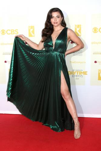 DAYS nominee Victoria Konefal strikes a red carpet ready pose!