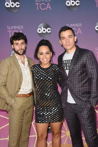 Gearing up for HTGAWM's final season: Jack Falahee, Amirah Vann and Conrad Ricamora.
