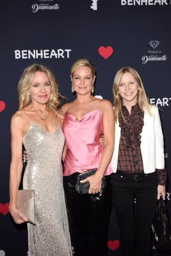 Tamara Clatterbuck, Sharon Case and Lauralee Bell show up in support of Katherine's store.