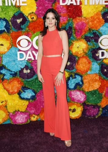 Looking stunning in red, Y&R's Cait Fairbanks.