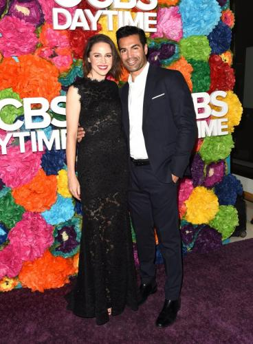 Y&R's Jordi Vilasuso attended with wife Kaitlin.