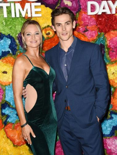 SHADAM! Sharon Case with the new Adam, Mark Grossman