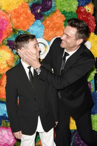 Y&R's Daniel Goddard with his son, Sebastian!