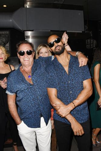 Is it the Blue Brothers? Are they wearing the same shirt? Check out Thaao Penghlis and Lamon Archey.