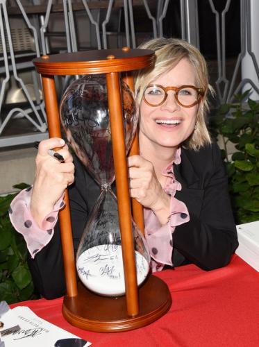 Like sands through the hourglass ... so are the days of Kayla Brady aka Mary Beth Evans.