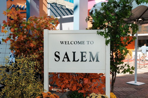 Salem Sign - Day of DAYS