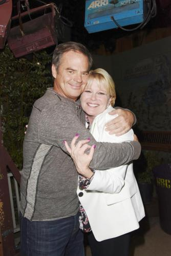 AWWW - Wally Kurth and his long-time co-star Judi Evans.