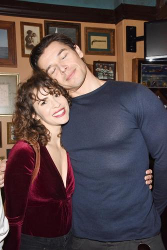 Paul Telfer with Xander's on-screen favorite, Linsey Godfrey