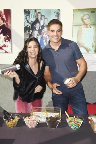 On-screen siblings, Camila Banus and Galen Gering,