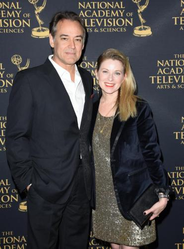 GH Emmy nominee Jon Lindstrom and his wife Emmy winner, Cady McClain.