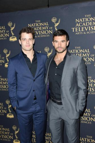 Best buds for life! Y&R's Michael Mealor and GH's Josh Swickard.