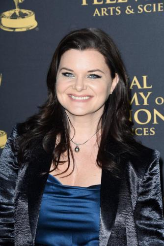 Five-time Daytime Emmy winner, Heather Tom of The Bold and the Beautiful.