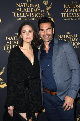 Y&R's Jordi Vilasuso and his wife Kaitlin kick-off Emmy weekend,