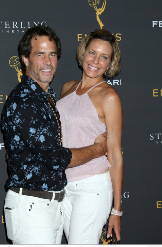 Stepping out, DAYS Arianne Zucker with her beau, Shawn Christian/