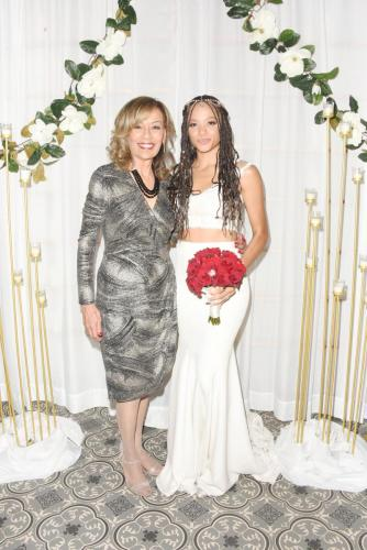 Tamara Price (guest star Marilyn McCoo) came back to Salem to watch her daughter be married again; this time for real!