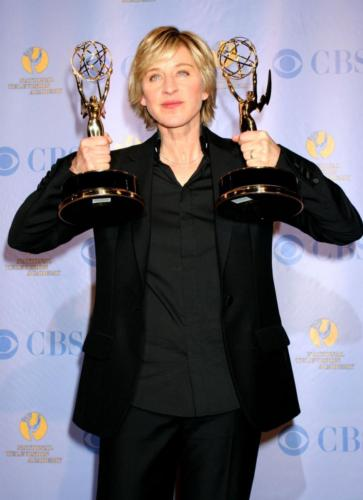 She is the talk show host beloved the most - Ellen DeGeneres had won multiple Emmys.