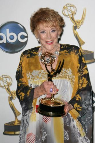 Y&R's late great Jeanne Cooper finally won Lead Actress for her role as Katheirne.