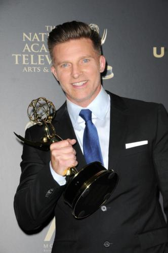 Last year for his work as Y&R's Dylan, Steve Burton was named Outstanding Supporting Actor.
