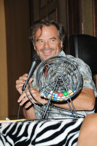 Wally Kurth's  (Ned) BINGO night returned!