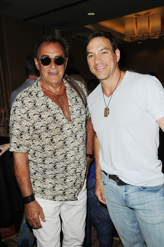 At the GH Past Cast Event: Tyler Christopher (Ex-Nikolas) met up with Thaao Penghlis (Ex-Victor Cassadine).