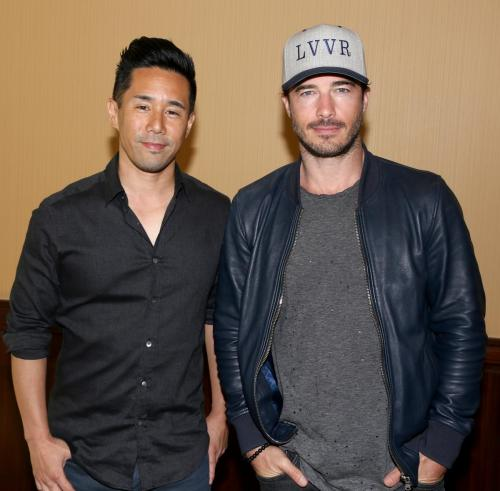 One of the final events of the five days of GHFCW featured Brucas: Parry Shen and Ryan Carnes.
